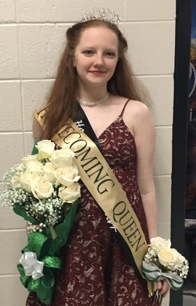 Cook Named Homecoming Queen