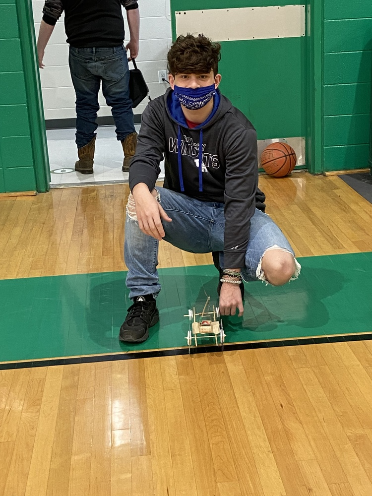 Cameron Wells wins Mousetrap Car Challenge