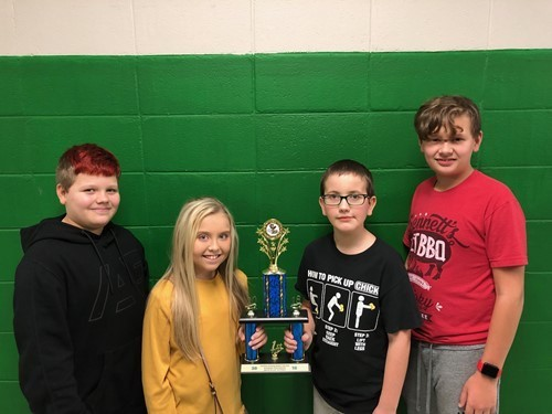 Jenkins Middle School Academic Team wins District JV Quick Recall