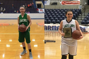 Thacker Sisters Both Join the 1000 Point Club