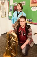 Two Students Named to All-District Band Positions