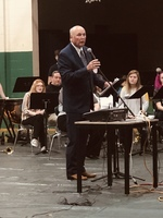 Rep. Johnny Ray Turner Visits JHS